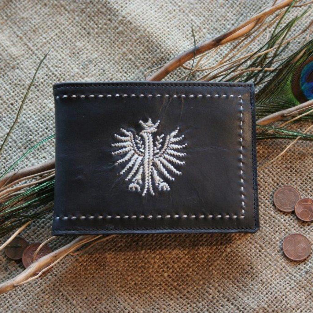 Herrengeldtasche mit Adler