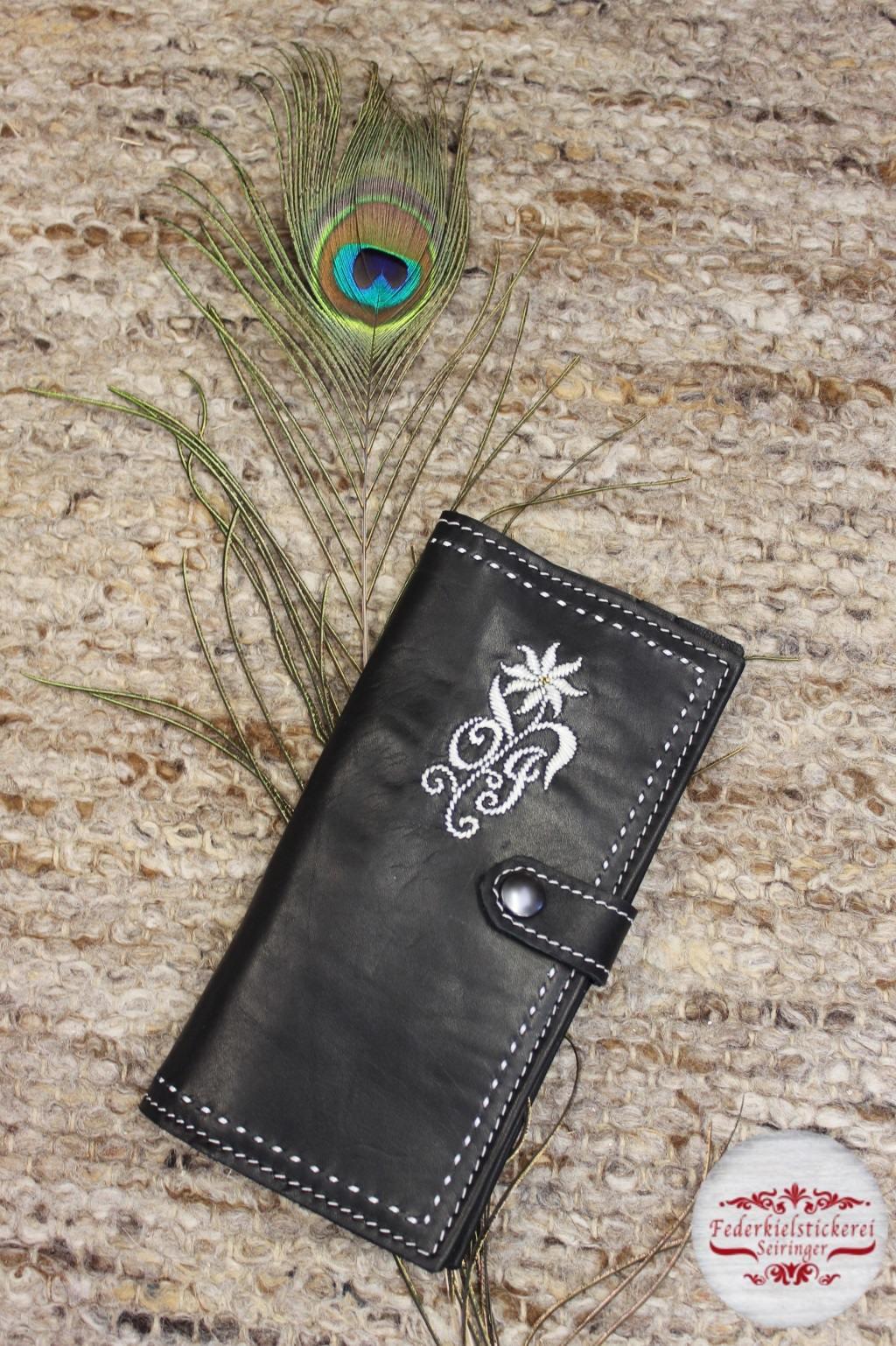 Damen Geldtasche mit Monogramm