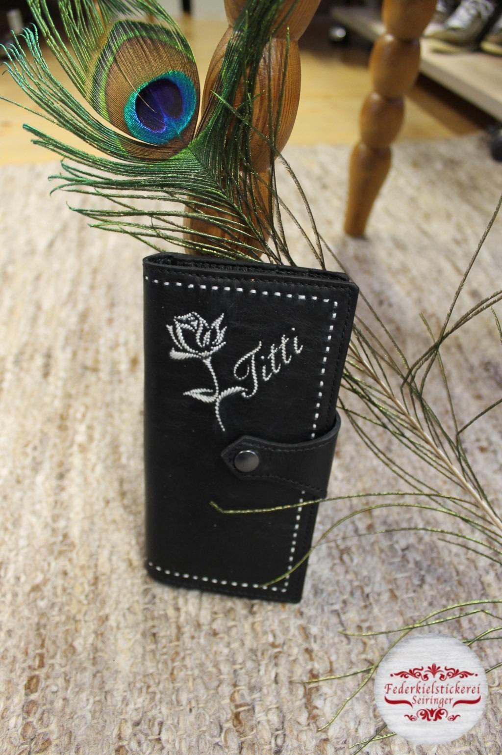 Damengeldtasche Rose
