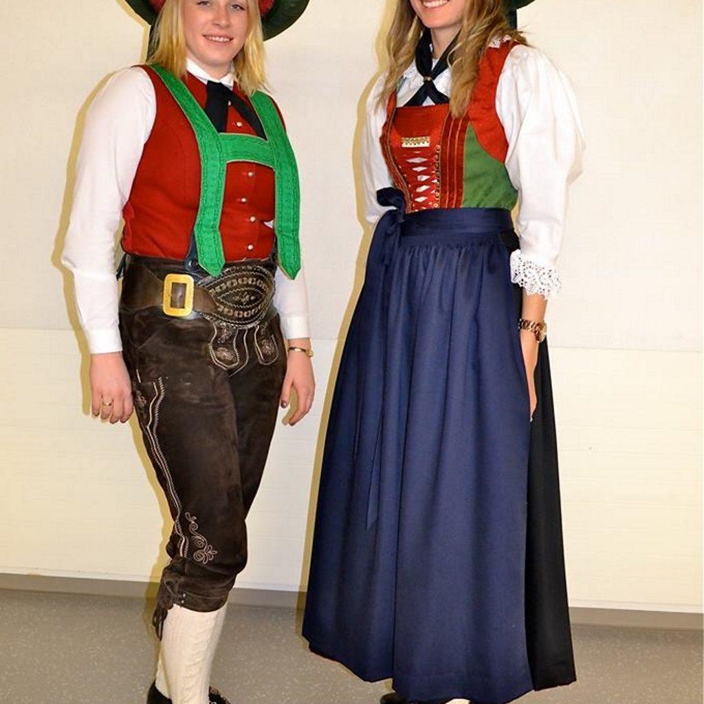 Neue Damentracht der MK Landeck/Perjen