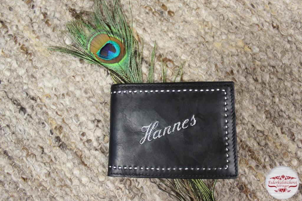 Geldtasche mit dem Vornamen