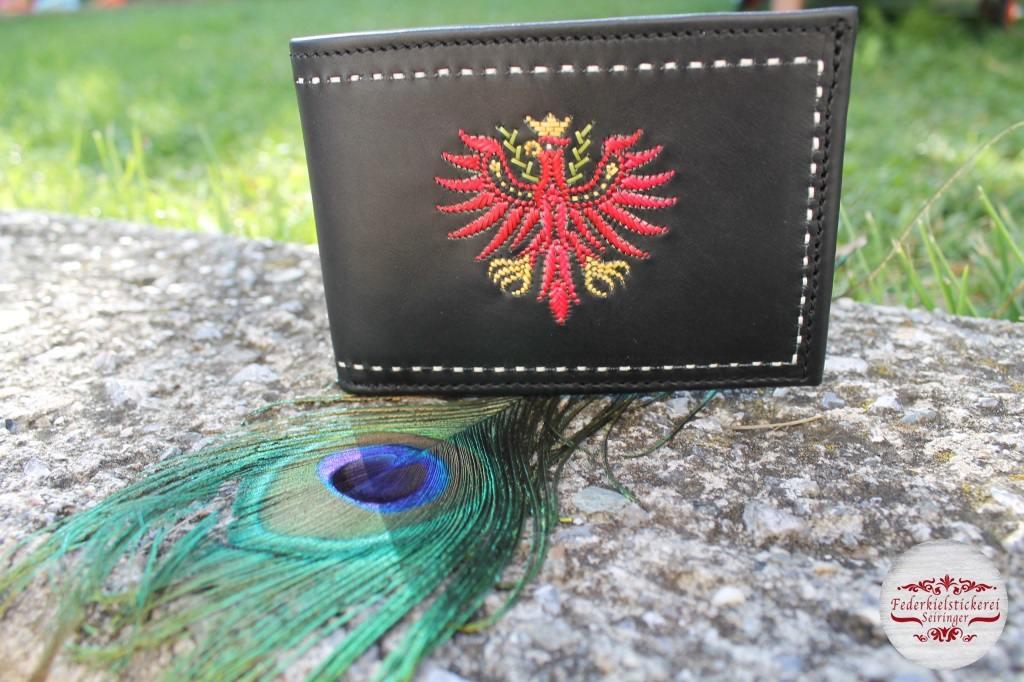 Herrengeldtasche rotem Tiroler Adler
