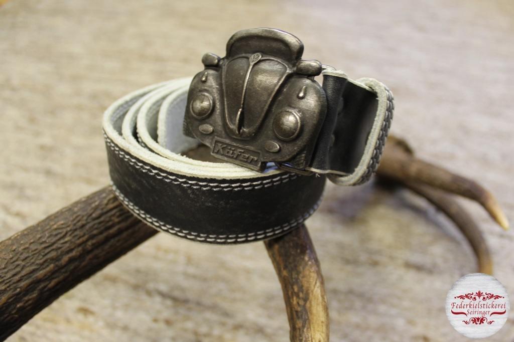 Gürtel mit VW Käfer Schnalle