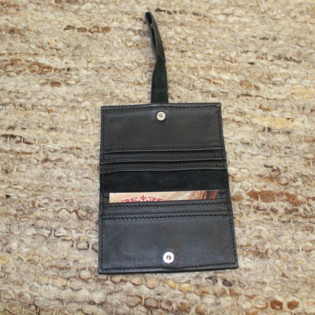 Innenleben der speziellen Karten Tasche