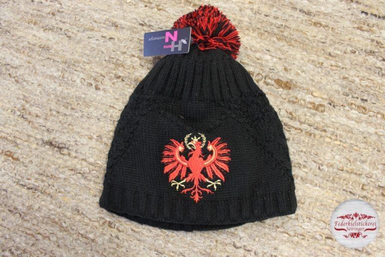 Mütze mit Tiroler Adler