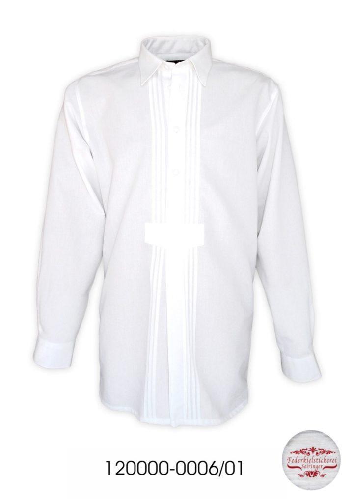 Vereinshemd mit Wäscheknöpfen