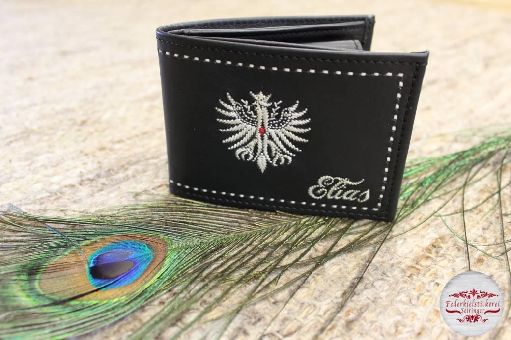Wunderschöne Geldtasche mit Adler